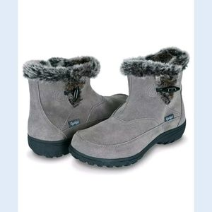 FLOOPI WOMEN ALL WEATHER COLD RESISTANT FUR BOOTS